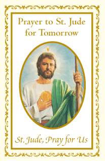 A Prayer to St. Jude for Tomorrow